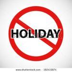 Holidays, I hate those