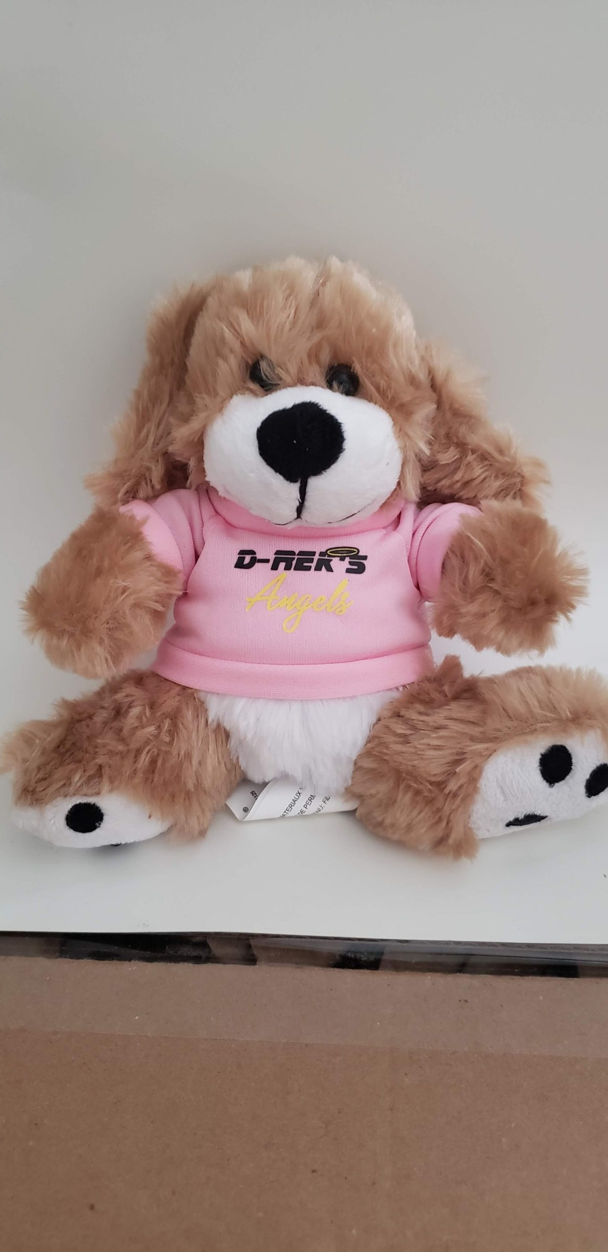 D-Rek's Support Dog Plush (Angel)