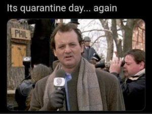 Quarantine 1.5 ish