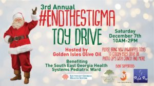 3RD ANNUAL #endthestigma toy drive